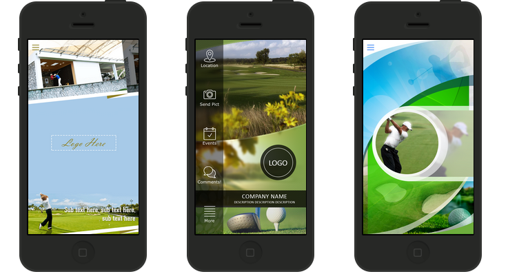 Apps de Campos de Golf